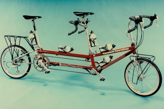 e3a143084bc The Original Tandem Two sDay in 1994 came with drop bars as it was designed  for fast rides!