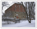 photo of the Granary in snow