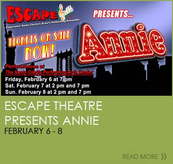 Escape Theatre presents Annie February 6-8