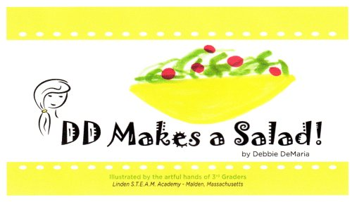 dd makes a salad book logo