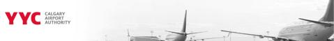 Calgary Airport review