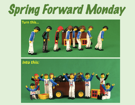Spring Forward Monday Focused Innovation And Engagement Tools For