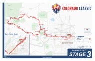 Colorado Classic Stage 3 Map