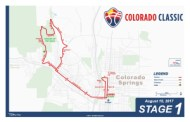 Colorado Classic Stage 1 Men's Map