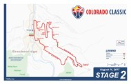 Colorado Classic Stage 2 Men's Map