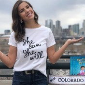 Miss USA Colorado 2018 poses for International Women's Day 2019