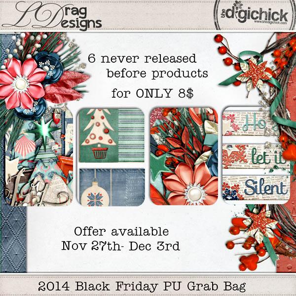 Black Friday with a PU Grab Bag & a freebie — LDragDesigns