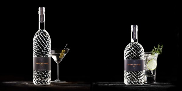 Spirit of York premium gin and vodka now available at LCBO -