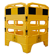 Yellow Utility Barrier