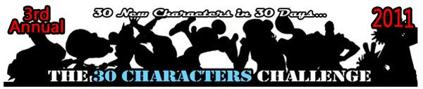 2011 30 Characters Challenge