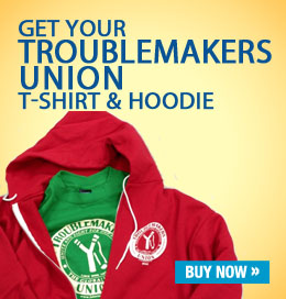 image: Troublemakers Union hoodie and T-shirt