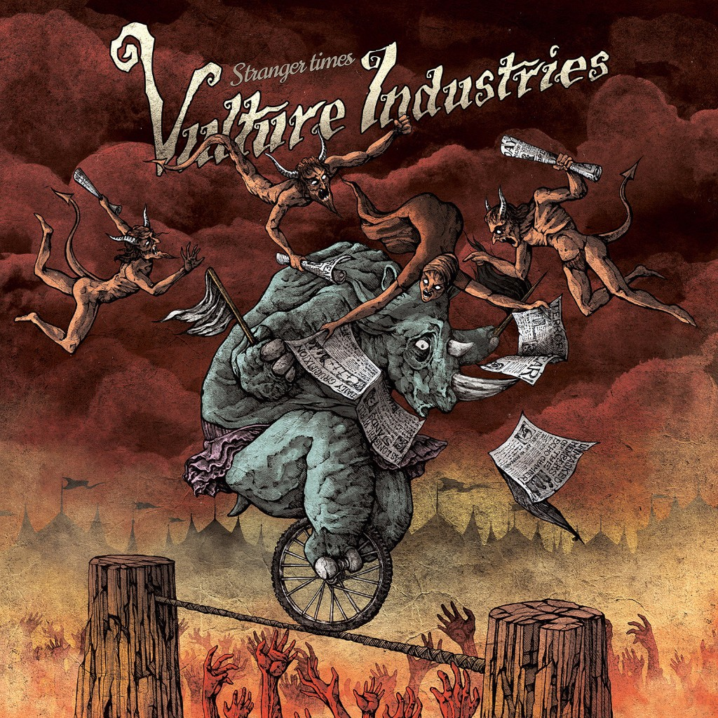 VULTURE INDUSTRIES album cover Stranger Times