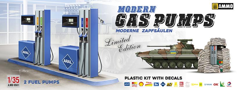 AMIG8501 MODERN GAS PUMPS Edición limitada