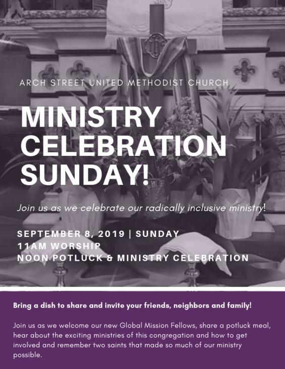 Arch Street United Methodist Church | A Reconciling Congregation