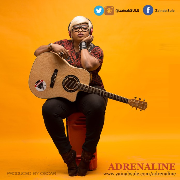 ZAINAB SULE RELEASES NEW SINGLE - ADRENALINE - Brand Spur