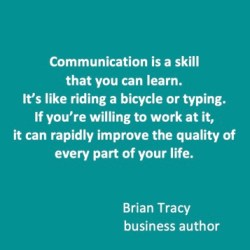 Brian Tracy quote - Talk About Talk