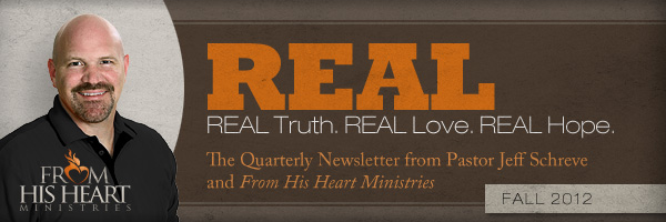 From His Heart Ministries Newsletter
