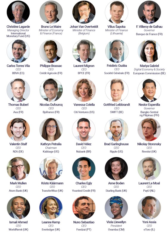 Paris Fintech Forum 2019: discover the 100+ first confirmed speakers event