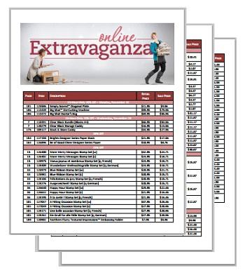 Online Extravaganza PDF