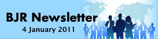 BJR Newsletter 4 Jan 2011