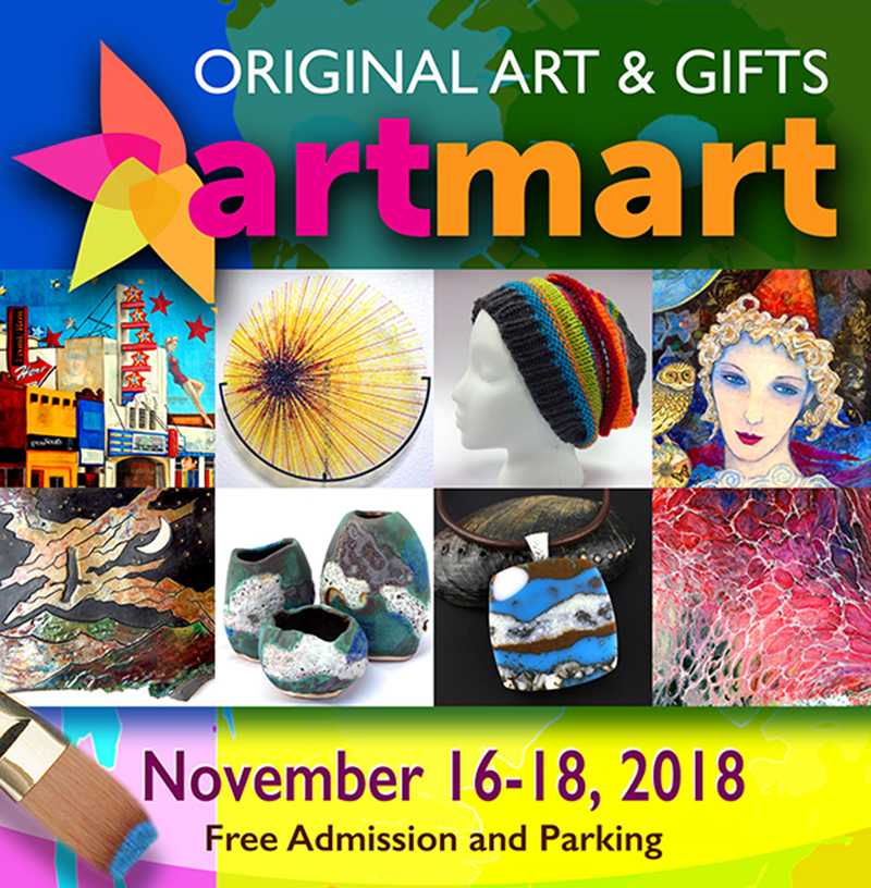 Art Mart 2018 Is Coming November 16-18!