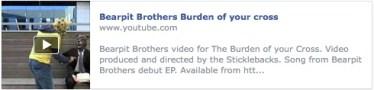 Bearpit Brothers, Burden of your cross video
