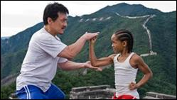 Jackie Chan and Jaden Smith in 'The Karate Kid' (2010)