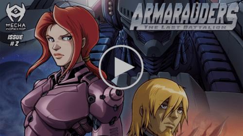 Armarauders: The Last Battalion (Motion Comic) – Episode II