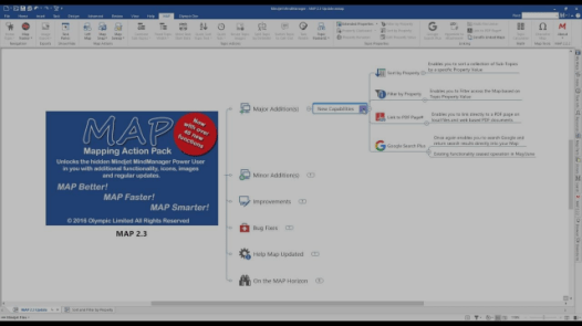 MAP for MindManager 2.3 Overview