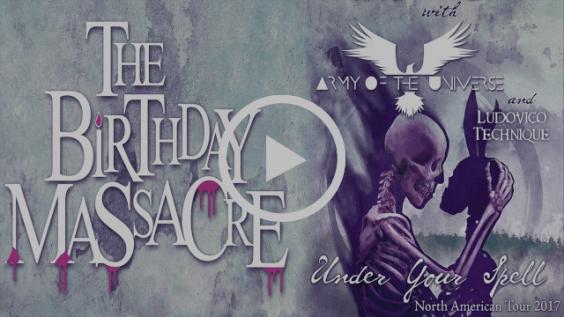 The Birthday Massacre - Counterpane & North American Tour Dates!