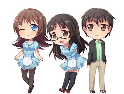 Aurelia, Julia, Ryne
