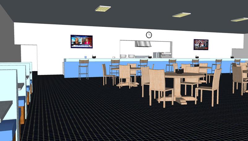 Cafe Memoria Interior