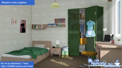 Mikaela's bedroom
