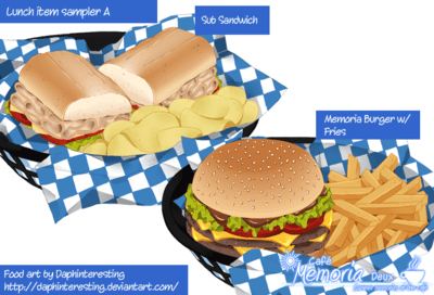 Lunch sampler A