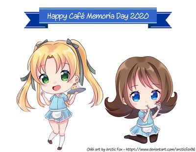 Happy Café Memoria Day 2020 - Mikaela and Aurelia