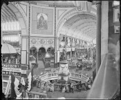 Inside the Garden Palace at the Sydney International Exhibition, 1879. NRS 4481 SH1588