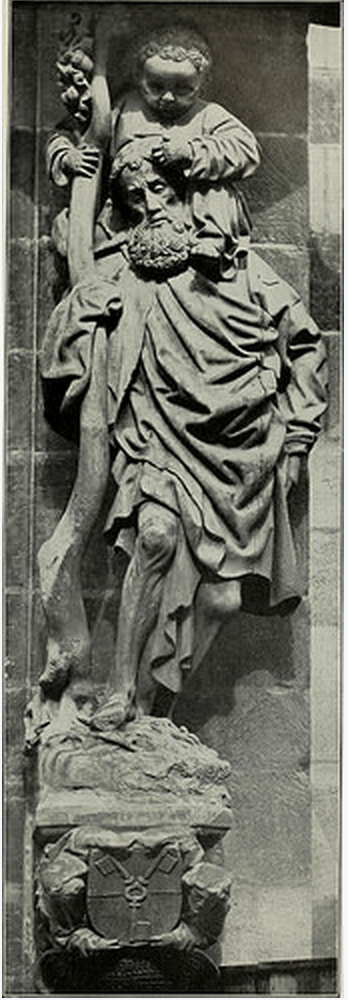 black and white photo of a sculpture