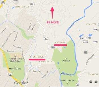 Stonehenge, River Run and 29 North
