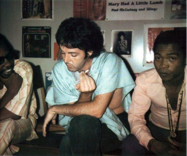 Paul McCartney and Fela Kuti