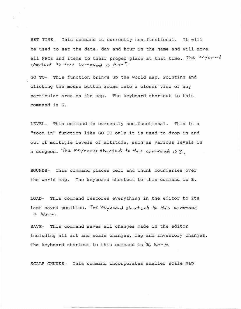Ultima 7 Design Documents: The World Editor – The Origin Gallery