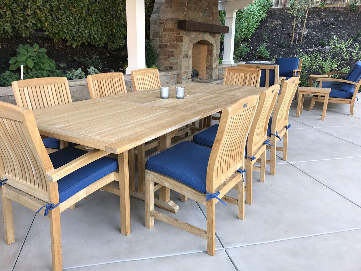 java teak outdoor furniture