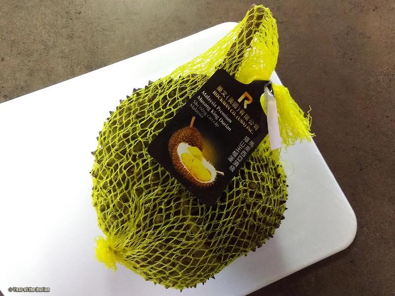 Malaysian Durian in Portland Oregon
