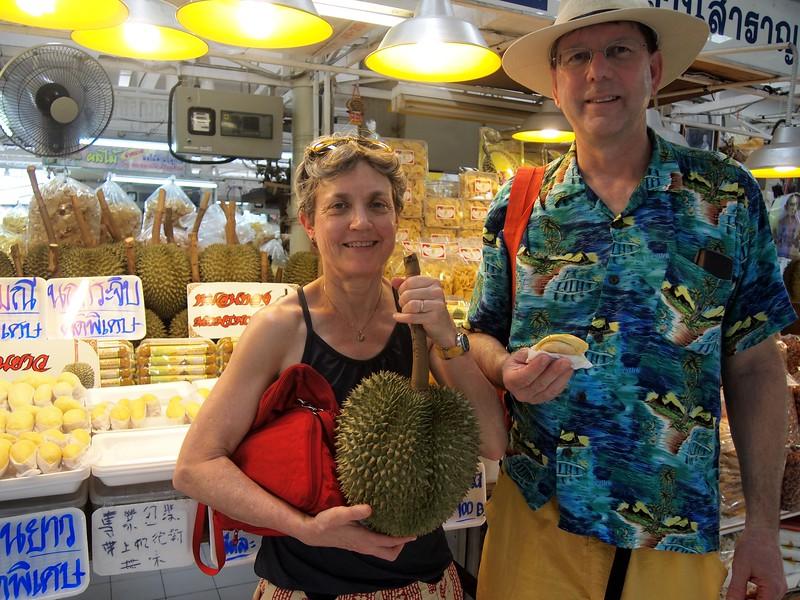 Ganyao durian at Or Tor Kor