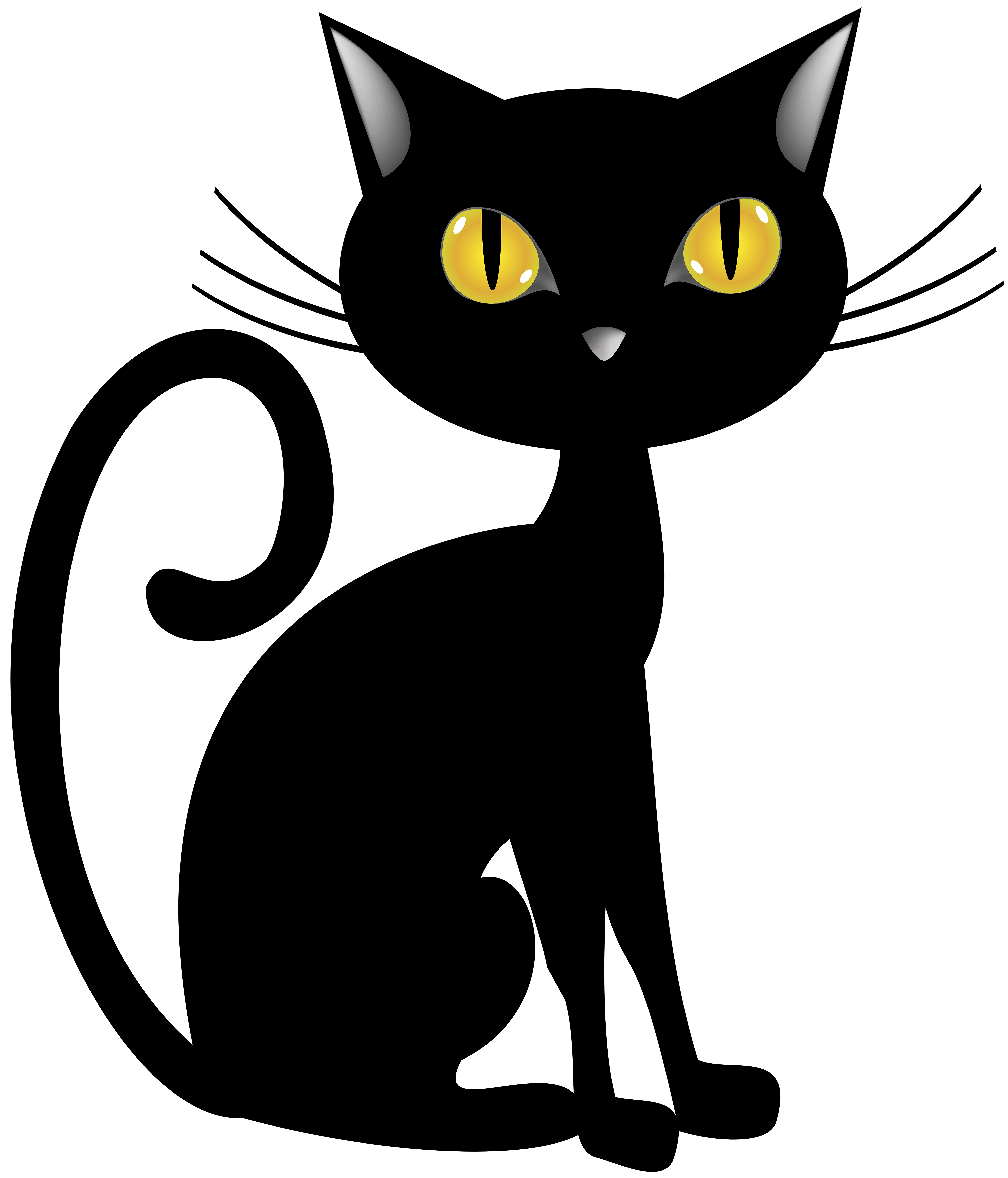Halloween black and white halloween cat clipart black and white halloween clipart black and white filsize: Halloween Black Cat Png Clip Art Image Gallery Yopriceville High Quality Images And Transparent Png Free Clipart