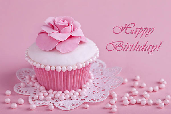 Happy Birthday Pink Greeting Card Gallery Yopriceville High Quality Images And Transparent