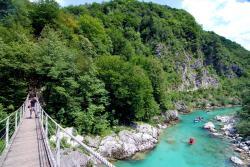 Bridge over the Soca river