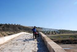 Andrew on the Roman bridge