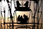 Ferris wheel ride in Shymkent