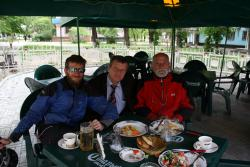 Andrew, Michel and a mystery benefactor
