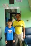 Irham and his father